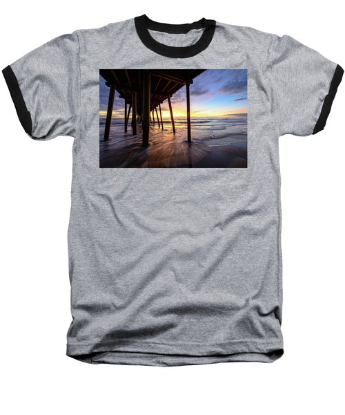 The Enchanted Pier Baseball T-Shirt