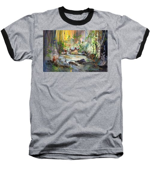 The Enchanted Pool Baseball T-Shirt