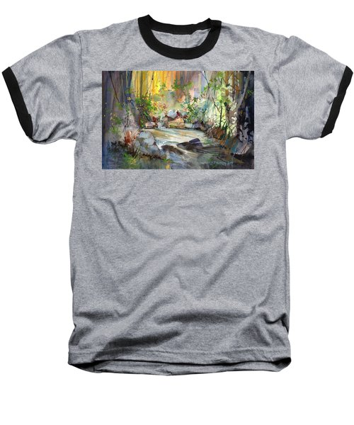 The Enchanted Pool Baseball T-Shirt
