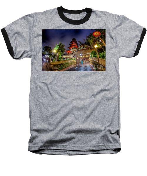 The Enchanted Tiki Room Baseball T-Shirt
