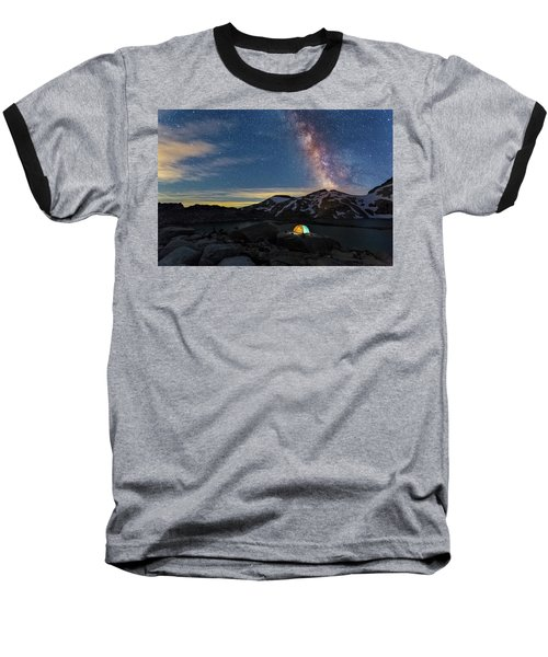 Mountain Trekking Baseball T-Shirt