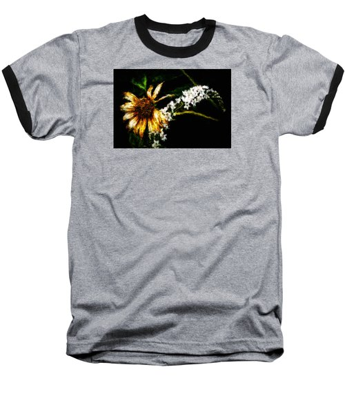 Baseball T-Shirt featuring the digital art The End Of Summer by Cameron Wood