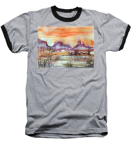 The End Of The Day 2 Baseball T-Shirt