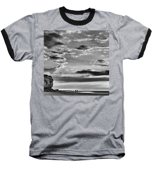 The End Of The Day, Old Hunstanton  Baseball T-Shirt by John Edwards