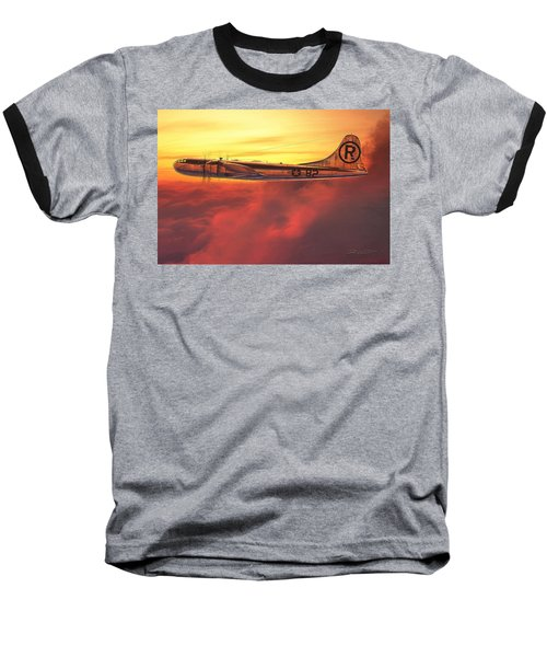 Enola Gay B-29 Superfortress Baseball T-Shirt by David Collins