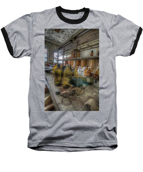Baseball T-Shirt featuring the digital art The Experiment  by Nathan Wright