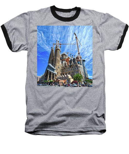 The Expiatory Temple Of The Holy Family Baseball T-Shirt