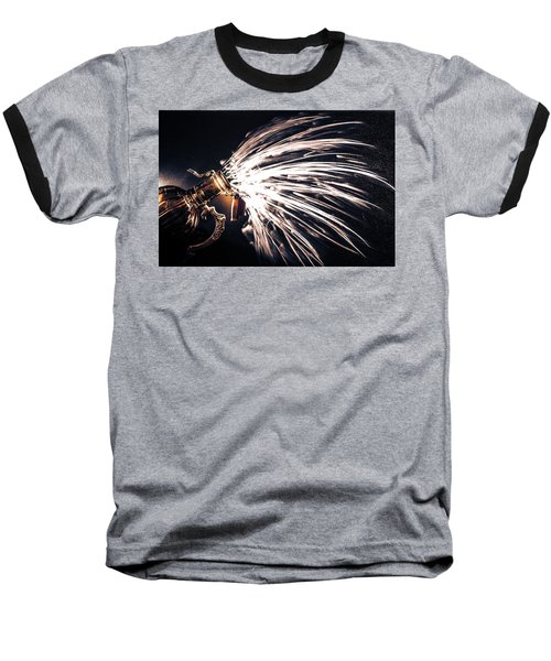 The Exploding Growler Baseball T-Shirt