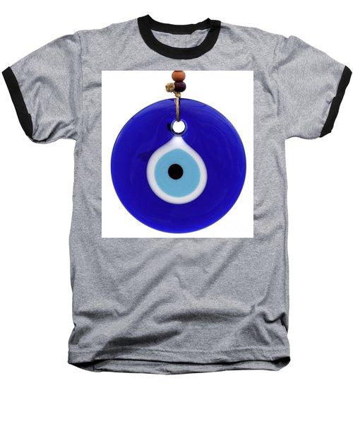 The Eye Against Evil Eye Baseball T-Shirt