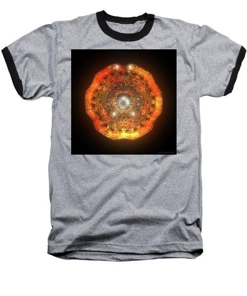 The Eye Of Cyma - Fire And Ice - Frame 160 Baseball T-Shirt