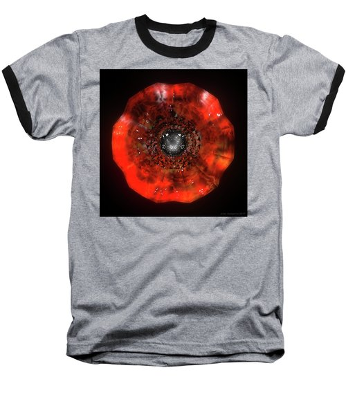 The Eye Of Cyma - Fire And Ice - Frame 40 Baseball T-Shirt
