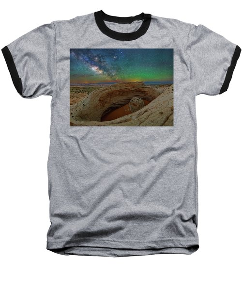 The Eye Of Earth Baseball T-Shirt