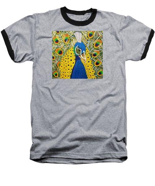 The Eye Of The Peacock Baseball T-Shirt