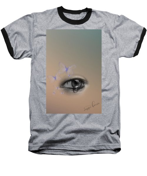 The Eyes Don't Lie Baseball T-Shirt
