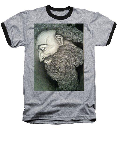 The Face Of God Baseball T-Shirt