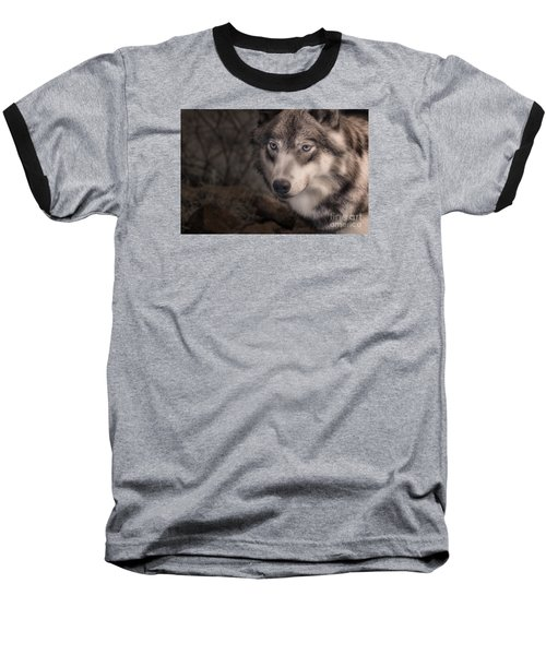 The Face Of Teton Baseball T-Shirt by William Fields