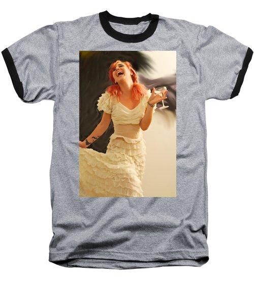 The Face Series - Cecilia - Digitalart Baseball T-Shirt