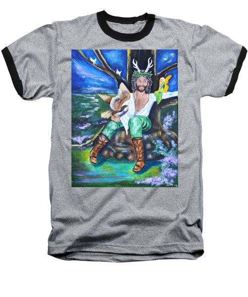 The Faery King Baseball T-Shirt
