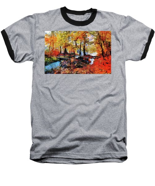 The Failing Colors Of Autumn Baseball T-Shirt