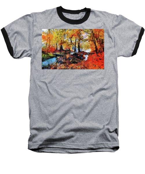 The Failing Colors Of Autumn Baseball T-Shirt