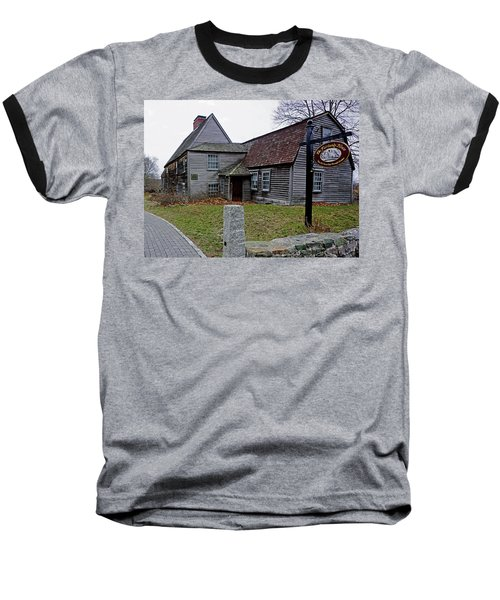 The Fairbanks House Baseball T-Shirt