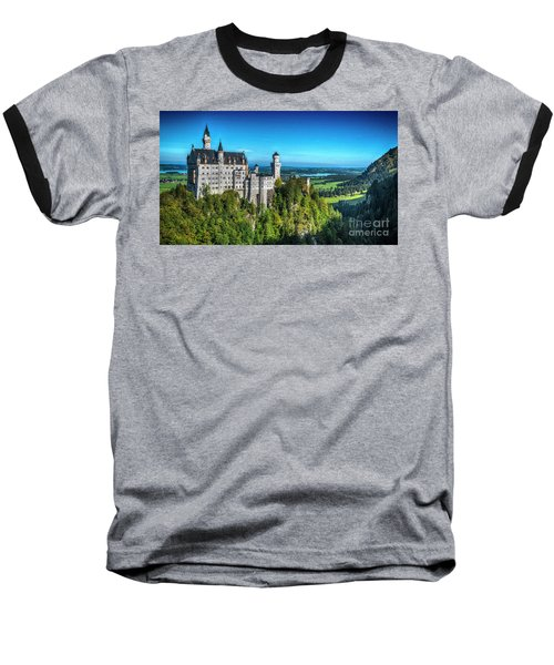 The Fairy Tale Castle Baseball T-Shirt