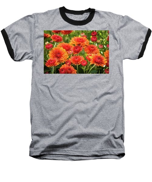 Baseball T-Shirt featuring the photograph The Fall Bloom by Bill Pevlor
