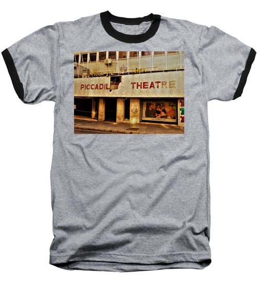 The Famous Beirut Picadilly Theater  Baseball T-Shirt by Funkpix Photo Hunter