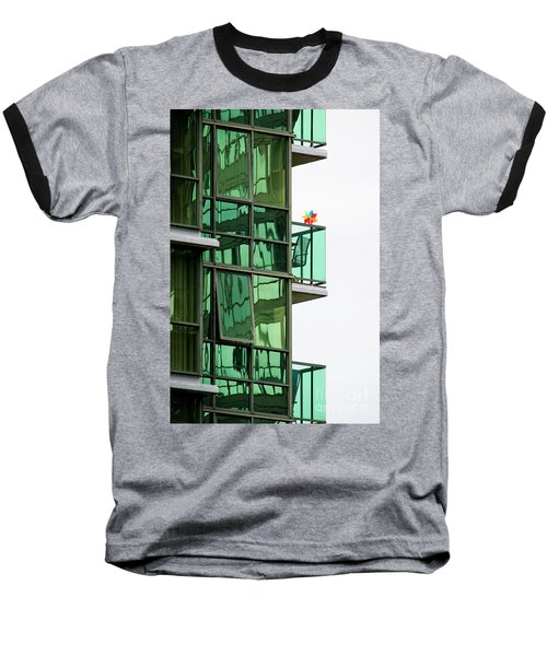 Baseball T-Shirt featuring the photograph The Windmill by Chris Dutton