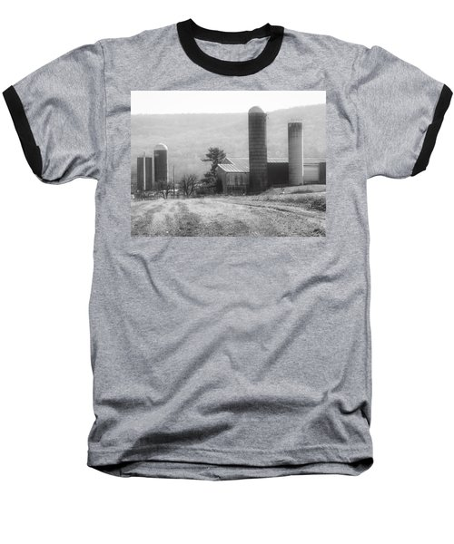 The Farm-after Harvest Baseball T-Shirt by Robin Regan