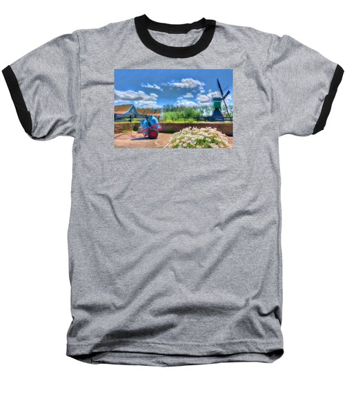 The Farm Baseball T-Shirt by Nadia Sanowar