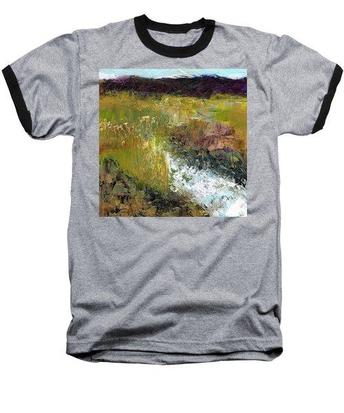 The Farmers Ditch Fall Baseball T-Shirt by Frances Marino