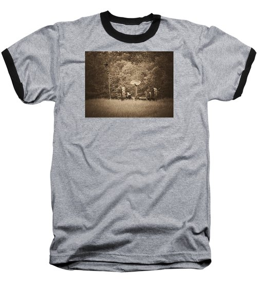 A Farmer's Field Baseball T-Shirt