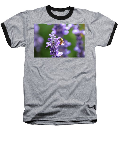 Baseball T-Shirt featuring the photograph The Fauna And Flora Rendez-vous by Yoel Koskas