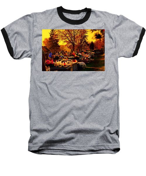 The Feast Of The Dead Baseball T-Shirt