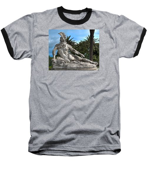 Baseball T-Shirt featuring the photograph The Feather by Richard Ortolano