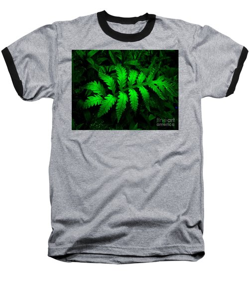 Baseball T-Shirt featuring the photograph The Fern by Elfriede Fulda