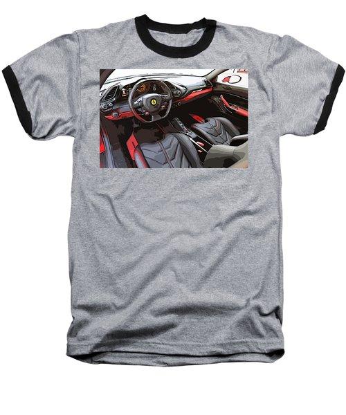 The Ferrari 488 2016 Baseball T-Shirt