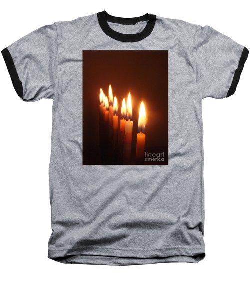 The Festival Of Lights Baseball T-Shirt by Annemeet Hasidi- van der Leij