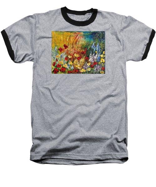 The Field Baseball T-Shirt by Teresa Wegrzyn