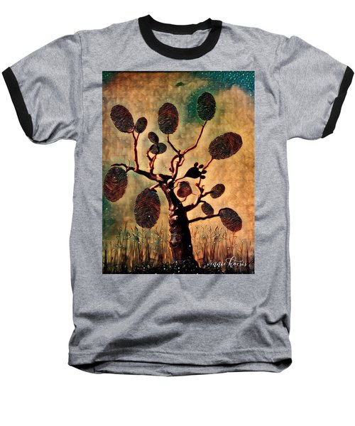 The Fingerprints Of Time Baseball T-Shirt