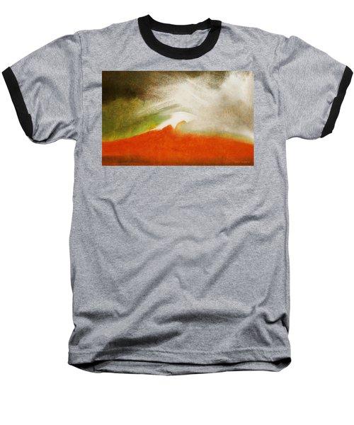 The Fire Mountain - Cotapaxi Baseball T-Shirt