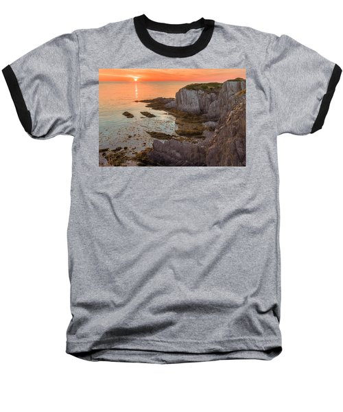 Nova Scotian Sunset Baseball T-Shirt