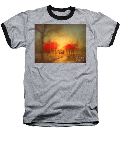 The Fire Trees Baseball T-Shirt