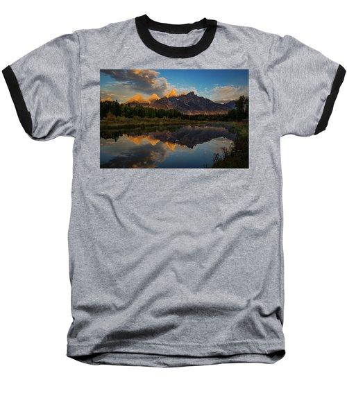 The First Light Baseball T-Shirt by Edgars Erglis