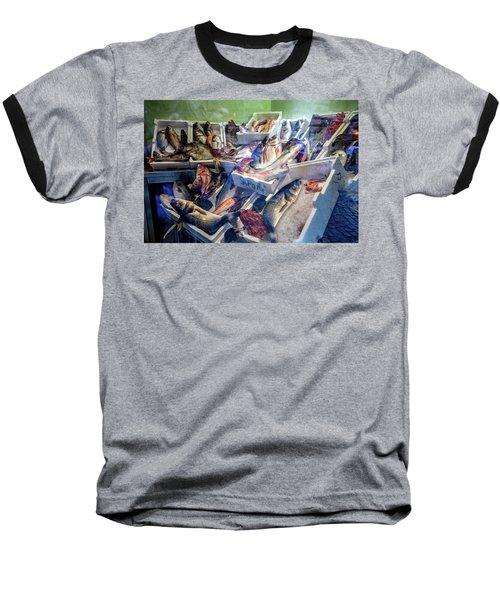 The Fish Market Baseball T-Shirt