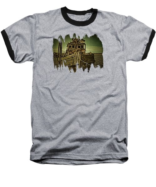 Baseball T-Shirt featuring the photograph Mary D. Hume Shipwreak by Thom Zehrfeld