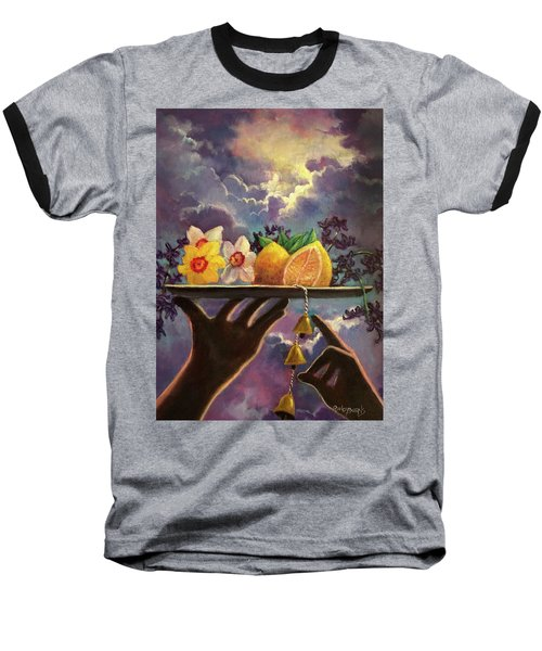 The Five Senses Baseball T-Shirt