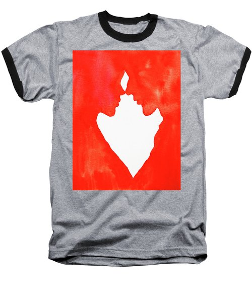 The Flame Of Love Baseball T-Shirt