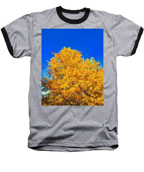 The Flare Of Fall On A Clear Day Baseball T-Shirt